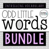 """Odd Little Words"" BUNDLE: 30 Weeks of Vocabulary Rich Mor"
