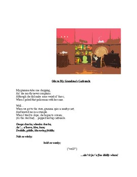 """""""Ode to Grandma's Carbuncle (A Poem)"""" New Book Trailer"""
