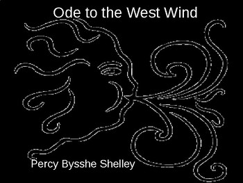 """""""Ode to the West Wind"""" by Shelley"""