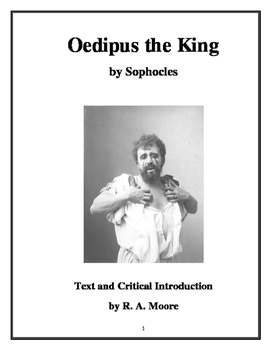 """Oedipus Rex"" by Sophocles: Text and Critical Introduction"