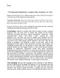 """Of Plymouth Plantation"" Lesson Plan--Puritans/Pilgrims"