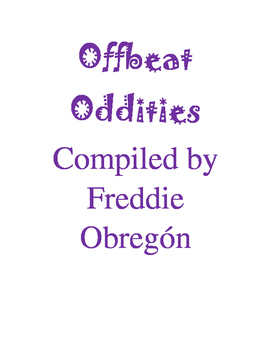 """""""Offbeat Oddities"""" - A Fact Book for Students"""