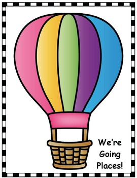 """Oh The Places You'll Go!"" Seuss-Inspired 3D Balloon Writing Prompt Craft"