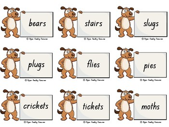 """""""Oi Dog!"""" Rhyming words cards for games"""