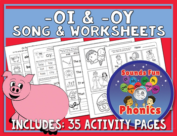 -Oi & -Oy Worksheets
