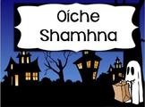 'Oíche Shamhna' Flashcards & Speech Bubbles