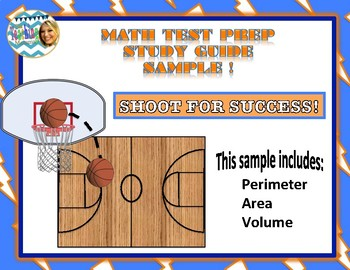(Oklahoma Academic Standards - Aligned) Math Test Prep Sample (Sports Themed)