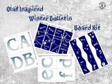 'Olaf Inspired' Bulletin Board Kit