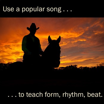 """""""Old Town Road"""" Rhythm Stick Activity"""