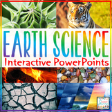 Earth Science PowerPoints Interactive Bundle