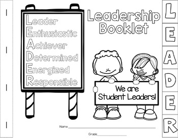 Leadership Booklet for Character Education