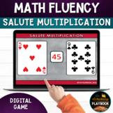 Math Fluency Games: Salute Multiplication