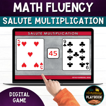 Salute Multiplication for Math Fluency