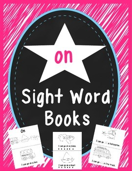 """""""On"""" Sight Word Book"""