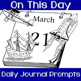 ⭐ On This Day- Daily Facts and Journal Prompts ENTIRE 2019