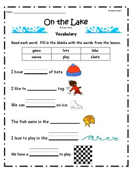 """On the Lake"" Guided Reading Program Work"
