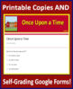 """""""Once Upon a Time"""" by Nadine Gordimer 9th Grade HMH Collections 1 Activities HRW"""