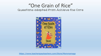 """""""One Grain of Rice"""" by Demi"""