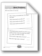 'One Hundred' Word Problems (counting/number patterns)