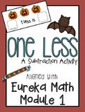 """One Less"" Subtraction - Eureka Math Module 1"