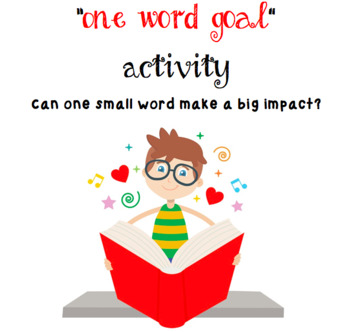 """""""One Word Goal"""" for Students or Staff"""