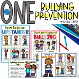"""""""One"""" by Kathryn Otoshi Book Companion: Bullying Prevention and Upstanders!"""