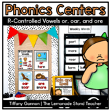 R-Controlled Vowels Or, Ore, and Oar Word Work Activities