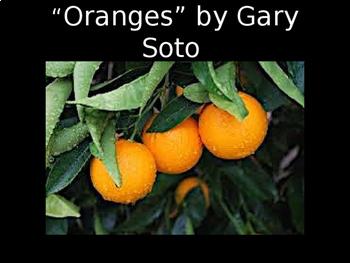"""Oranges"" by Gary Soto Bundle"