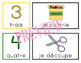 FRENCH picture direction cards - 'Order of Operations' icons for classroom work