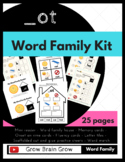 -Ot Word Family Kit 25 pages (Blend Seg CVC) Transitional