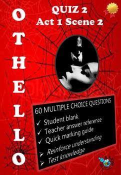 'Othello' by William Shakespeare - Quiz on Act 1 Scene 2