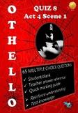 'Othello' by William Shakespeare - Quiz on Act 4 Scene 1