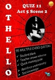 'Othello' by William Shakespeare - Quiz on Act 5 Scene 2