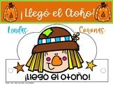 ¡Otoño! Sombreros / Coronas / FALL HATS in SPANISH