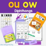 """""""Ouch!"""" said the owl: ou/ow phonics unit"""