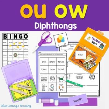 Ou and ow Phonics Unit