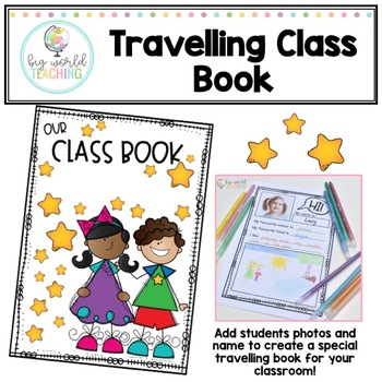 #betterthanchocolate *Our Class Book* Travelling Class Book