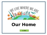 'Our Home' Unit Plan + PowerPoint