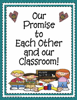 """""""Our Promise to Each Other"""" Rules & Respect"""
