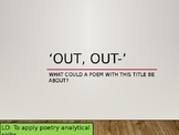 'Out-Out' by Robert Frost Poetry Analysis