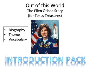 """Out of This World- The Ellen Ochoa Story"" Introduction Pack"