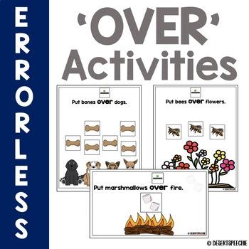 'Over' Errorless Activities
