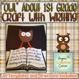 OWL  About 1st Grade Art & Writing Project