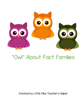 """Owl"" About Fact Families"