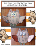 """""""'Owl' About Me"""" & """"'Owl' Be Your Friend"""" Back to School W"""