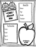 """Owl"" About Me and more pages!"