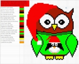 Owl Past, Present and Future Tense Pixel Art Mystery Picture Reveal
