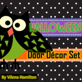 -Owls- Halloween Classroom Door Decor