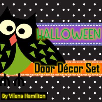 Classroom door decorations for halloween Toddler owls Halloween Classroom Door Decor By Vilena Hamilton Tpt Adidashunmdmulticolorinfo Owls Halloween Classroom Door Decor By Vilena Hamilton Tpt