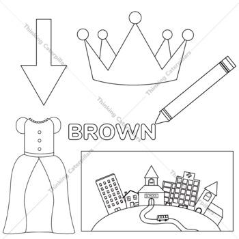 -Own Word families clip art
